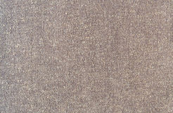 Closeup brown color fabric texture. Royalty Free Stock Photo