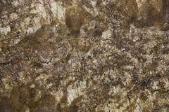 Closeup brown granite stone with natural pattern royalty free stock images