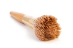 Closeup of a brown make-up brush Stock Photography
