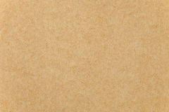 Closeup of Brown paper cardboard texture stock photo