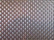 Plastic place mat webbing Royalty Free Stock Photo