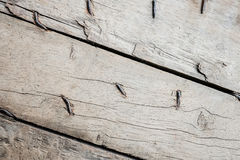 Closeup of brown wooden background Royalty Free Stock Images
