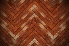 Closeup of brown wooden floor Royalty Free Stock Image