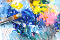 Closeup of brush Stock Image