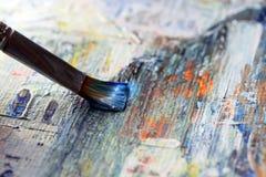 Closeup of brush stock illustration