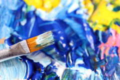 Closeup of brush Royalty Free Stock Image