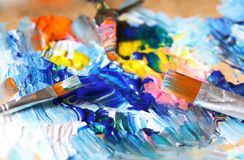 Closeup of brush Royalty Free Stock Images