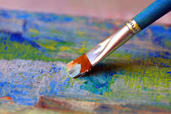 Closeup of brush Stock Images