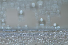 Closeup Bubbles Drops Stock Photography
