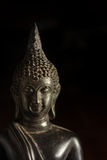 Closeup Buddha statue,faith or mind concept. Stock Photo