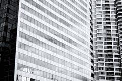 Closeup of building exterior Stock Photo