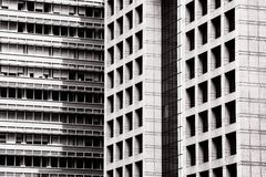 Closeup of building exterior Royalty Free Stock Images