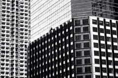 Closeup of building exterior Stock Photos