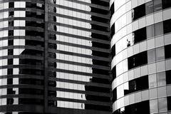 Closeup of building exterior Stock Photography