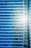 Closeup building on Sathorn road Royalty Free Stock Image