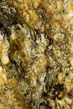 Bumpy Mineral Surface. Closeup of a bumpy mineral surface stock photography