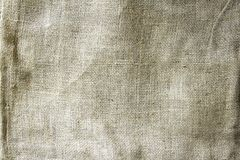 Hessian sacking. Closeup of burlap hessian sacking Royalty Free Stock Photos