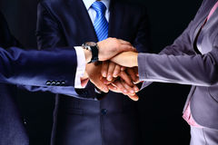 Closeup Of A Business Colleagues Royalty Free Stock Image