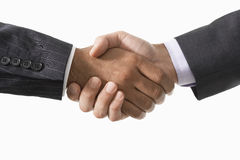 Closeup Of Business Handshake Royalty Free Stock Photography