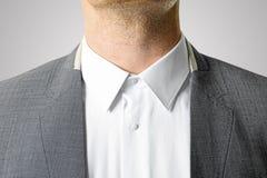 Closeup of businessman suit Royalty Free Stock Photo