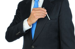 Businessman Taking Pen From Pocket Royalty Free Stock Photo