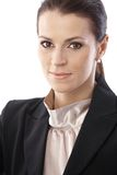 Closeup businesswoman portrait Stock Photo
