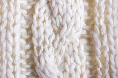 Closeup Cable Knit Stock Photos