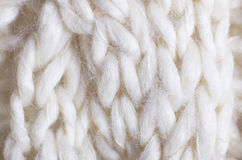Closeup Cable Knit Royalty Free Stock Photo