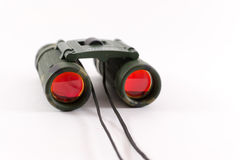 Closeup of Camouflage Style Binoculars Stock Images