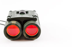 Closeup of Camouflage Style Binoculars Stock Photos