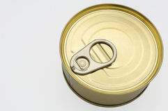 Closeup of can Stock Photography