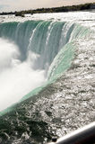 Closeup of the Canadian Falls. Stock Photos