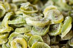 Closeup of candied kiwi Stock Photo