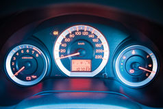 Closeup car dashboard Stock Photography