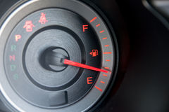 Closeup car dashboard Royalty Free Stock Photo