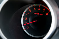 Closeup car dashboard Royalty Free Stock Images