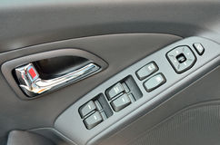 Car door buttons details Royalty Free Stock Photo