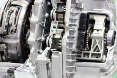 Closeup of car engine. Stock Image
