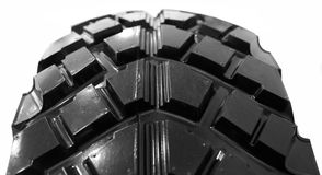 Closeup of car tyre Royalty Free Stock Images
