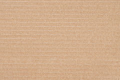 Closeup of cardboard texture Royalty Free Stock Photography