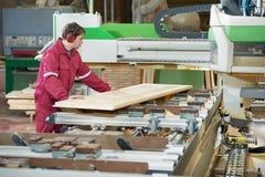 Closeup Carpentry Wood Cross Cutting Royalty Free Stock Photo