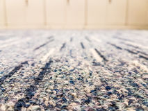 Closeup of carpet in office. Royalty Free Stock Images