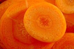 Closeup carrot Stock Images