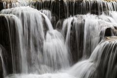 Closeup of a cascade Royalty Free Stock Photos