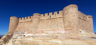 Closeup of  castle.  Chinchilla Royalty Free Stock Images