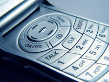 Closeup of Cellular Phone Stock Photo