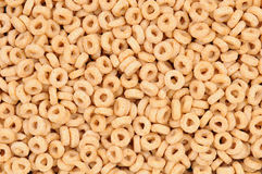 Closeup of Cereal O's Royalty Free Stock Images
