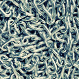 Closeup of chains Stock Image