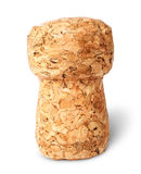 Closeup of champagne cork vertically Stock Photography