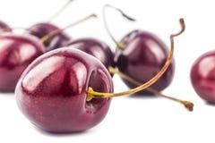 Closeup on Cherries Stock Photography